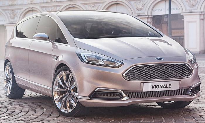 Ford přestavil S-MAX Vignale pro luxusní životní styl