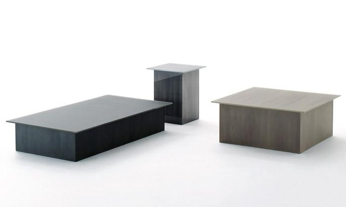 Glas uvádí skleněný nábytek imitující kámen idřevo