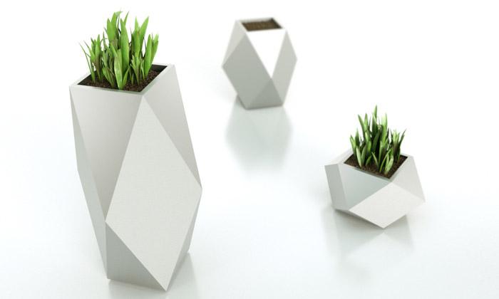 Petr Novague navrhl květináče pro český Kasper