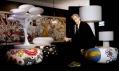 Pohled na výstavu Marcela Wandersa s názvem Pinned Up at the Stedelijk
