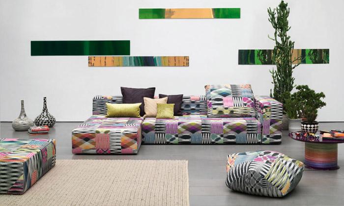 Missoni Home rozzáří domov pestrobarevnými vzory