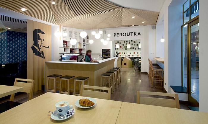 Jindřišská pasáž sechlubí novou kavárnou Peroutka