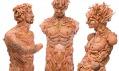 Freya Jobbins ajejí sochy zpanenek ahraček