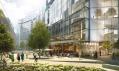 Battersea Power Station po dokončení třetí fáze od architektů Norman Foster a Frank Gehry