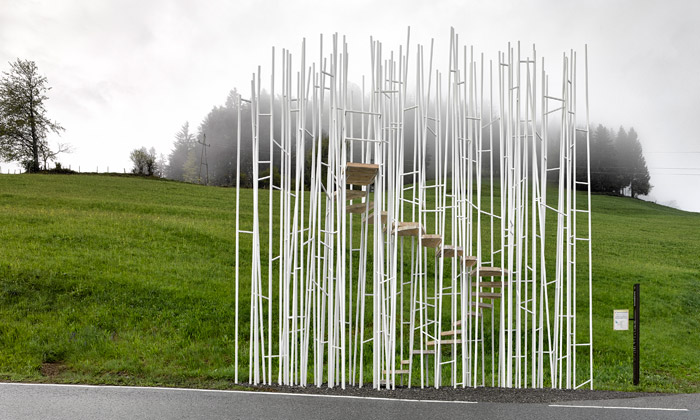 Sedm unikátních zastávek zdobí rakouskou vesnici