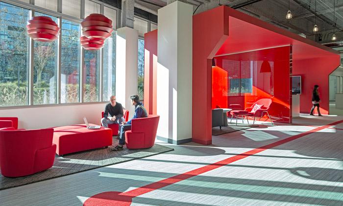 Comcast má vSilicon Valley nové červené kanceláře