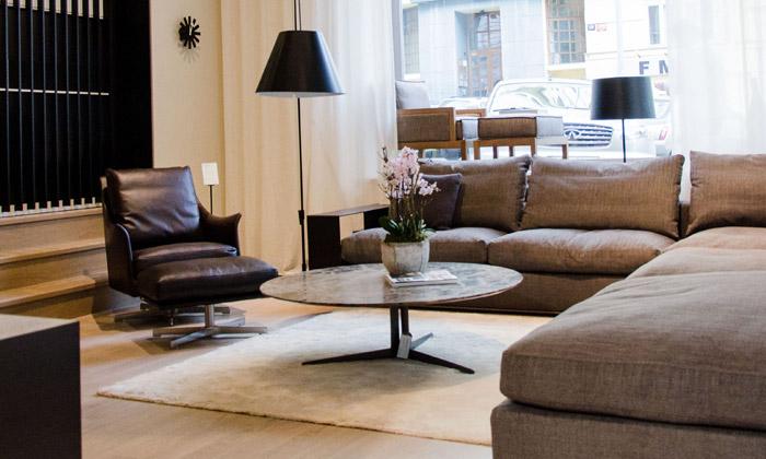 Flexform má vPraze obchod sluxusním nábytkem