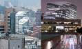 Jockey Club Innovation Tower od Zahy Hadid v Hongkongu