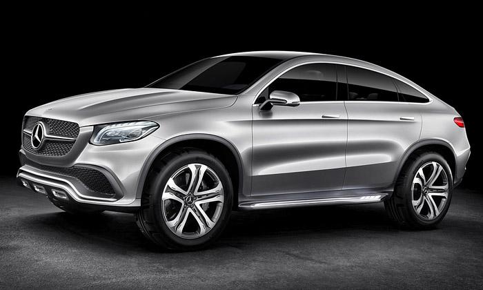 Mercedes-Benz představil Concept Coupé SUV