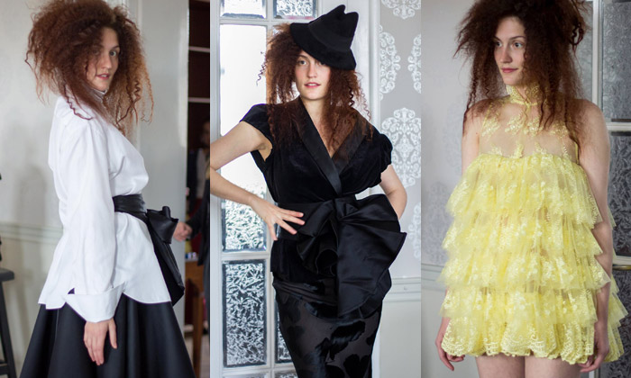 Monika Drápalová má kolekci inspirovanou krajkou