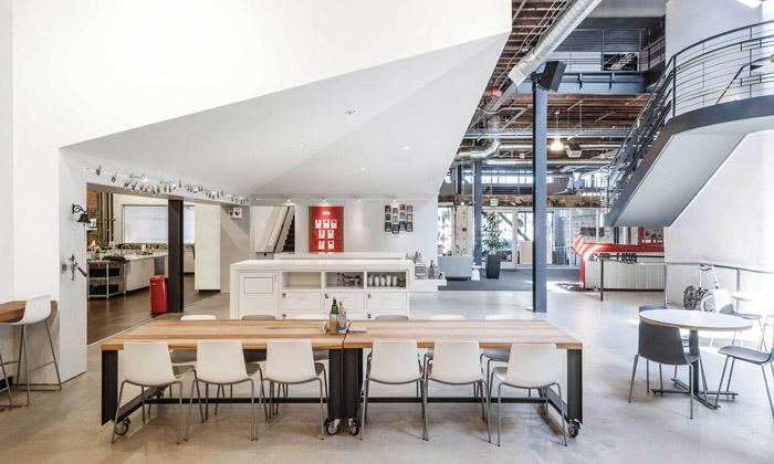 Pinterest si vybudoval kanceláře vbývalém skladu