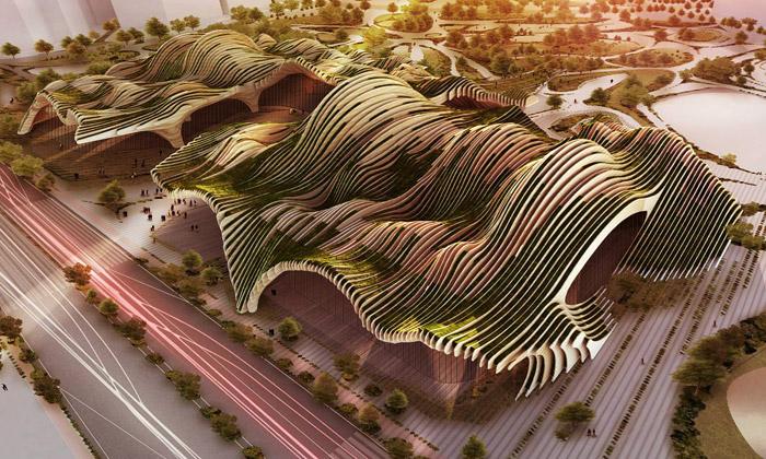 BAT navrhli kulturní centrum jako podmořské hory
