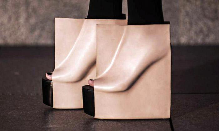 Talentem designu jeVáclavková za boty Rectangle