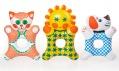 Nafukovací hračky Libuše Niklové pro značku Fatra