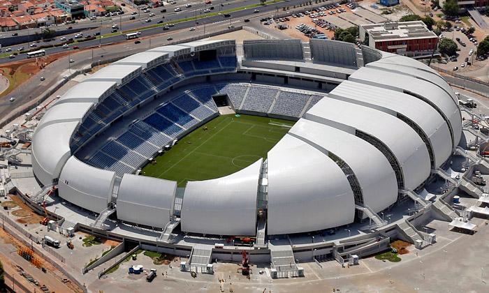Brazílie má nové stadiony pro mistrovství vefotbale