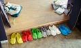 Satsuma Ohata a jeho boty Fondue Slippers