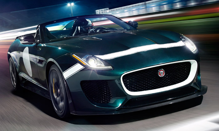 Jaguar F-Type Project 7 jde dovýroby anasilnice