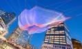Janet Echelman a její barevné síťové instalace