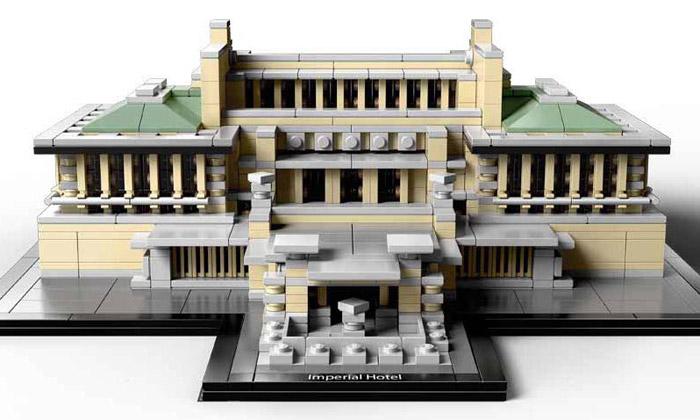 Lego Architecture serozšiřuje odalší známé stavby