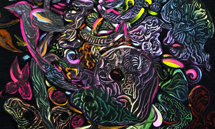 Otto Placht vPraze vystavuje Metamorfy pralesa