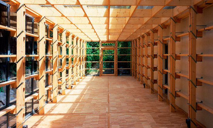 DOX vystavuje stavby ze dřeva odMartina Rajniše