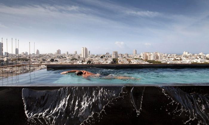 Antokolsky Penthouse má skvělý výhled naTel Aviv