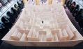 BIG a jejich bludiště Maze v The National Building Museum ve Washington D.C.