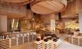 Interiér obchodu sesojovou omáčkou Kayanoya odKengo Kuma