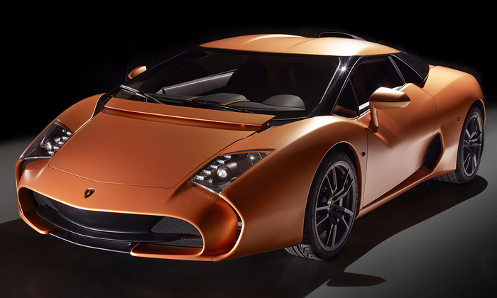 Lamborghini 5-95 Zagato jeunikátní oblý koncept