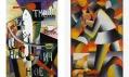 Ukázka z výstavy Malevich umělce Kazimira Maleviče v Tate Modern