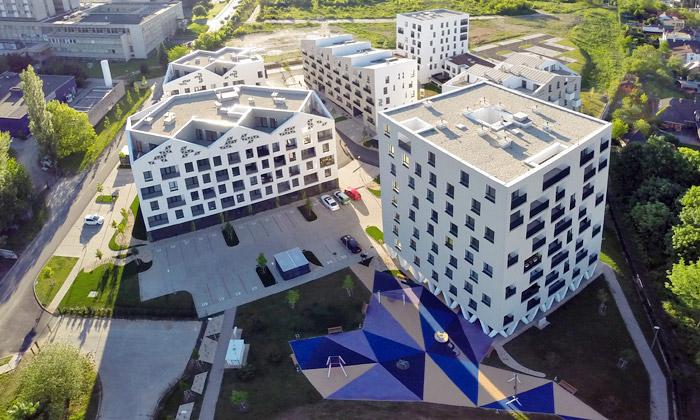 Vallo Sadovsky navrhli obytný komplex Nová terasa
