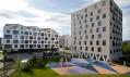 Obytný komplex Nová terasa v Košicích od Vallo Sadovsky Architects