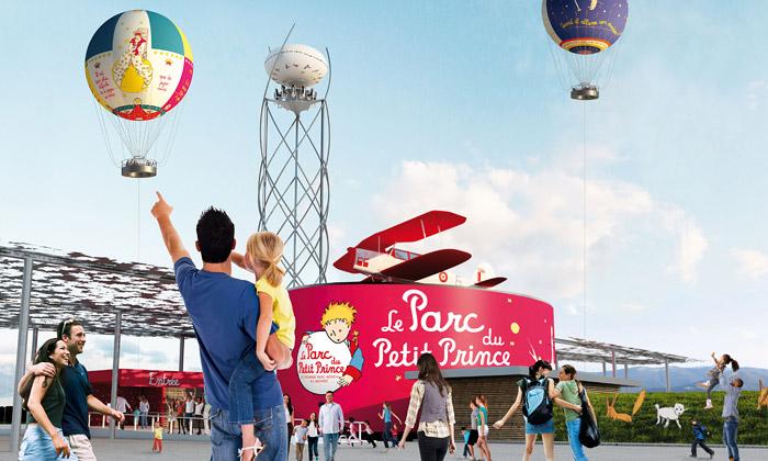 Francie otevřela velký zábavní park Malého prince
