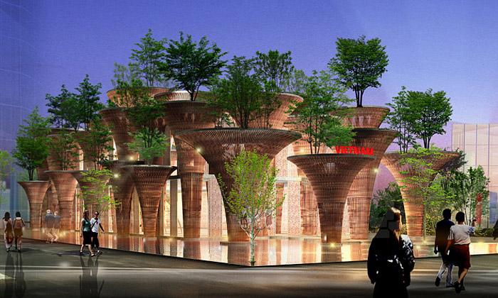 Vietnamský pavilon naExpo 2015 bude zbambusu