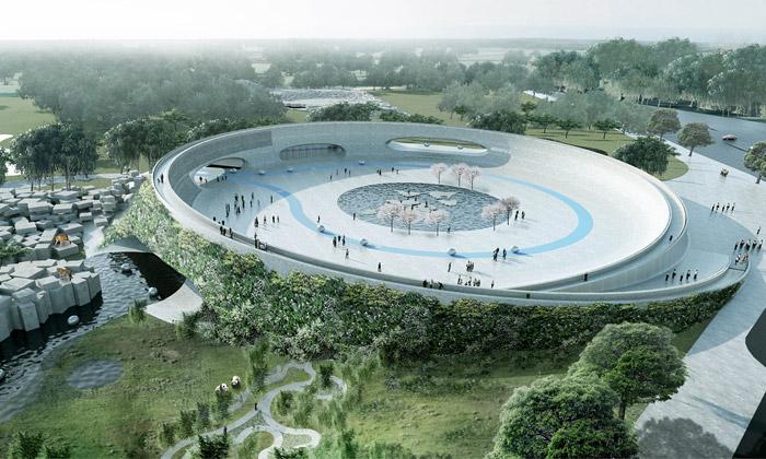 BIG navrhli nové pavilony avstup pro ZOO vDánsku
