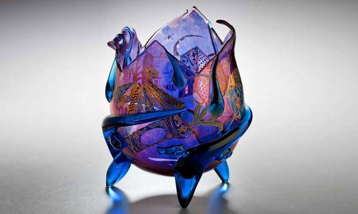 Čína iJaponsko vystavují až 600 let staré české sklo
