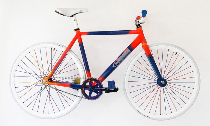 Jean-Luc Moerman navrhl jízdní kola pro Cinelli
