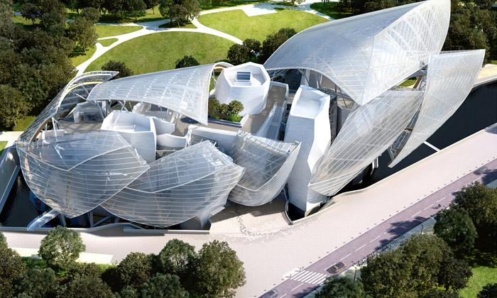 Frank Gehry navrhl Fondation Louis Vuitton vPaříži