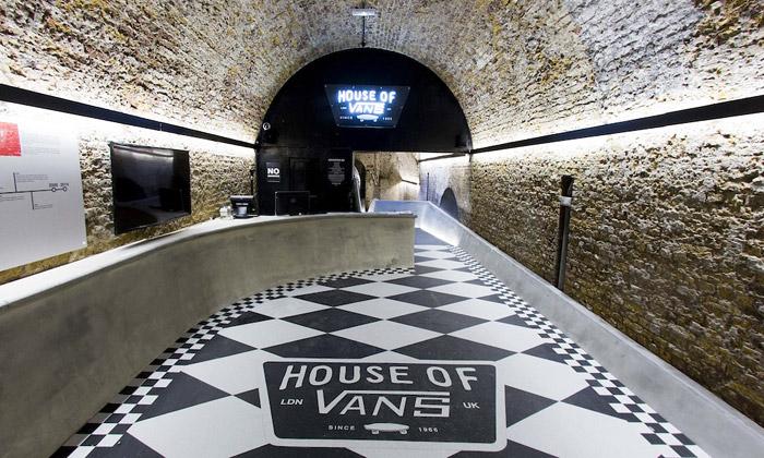House of Vans vLondýně jeprvní indoor skatepark