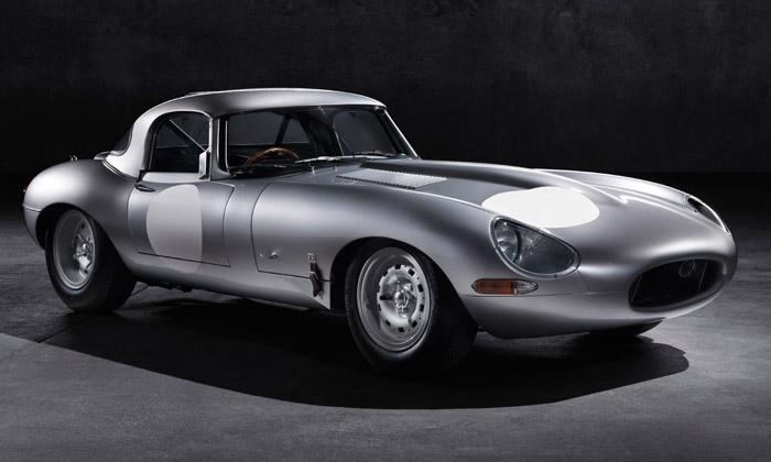 Hliníkový Jaguar Lightweight E-Type jde dovýroby
