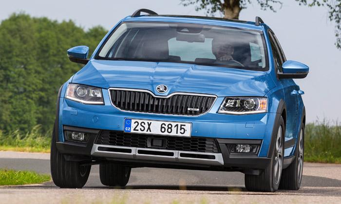 Nová asilnější Škoda Octavia Scout jde dovýroby