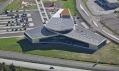 Ukázka z výstavy Současná dánská architektura v Galerii architektury v Brně