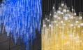 Svítidla Bamboo v pražském Florentinum od Jitky Kamencové Skuhravé