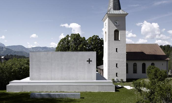 Rakouskou vesnici ozdobilo minimalistické muzeum