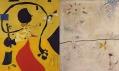 Joan Miró a ukázka děl vystavených v galerii Albertina