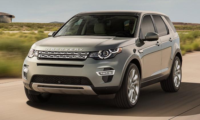Land Rover představil luxusní SUV Discovery Sport