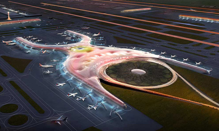 Mexico International Airport od Foster + Partners a FR-EE