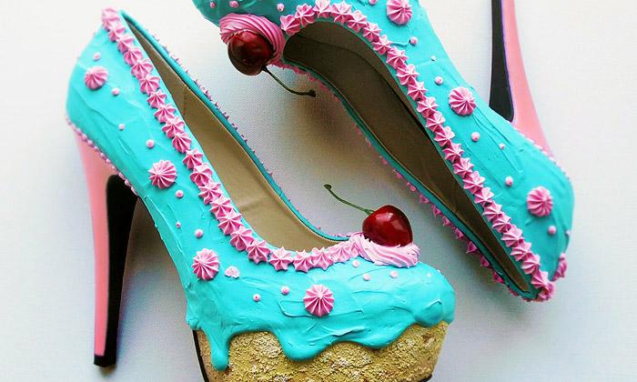 Shoe Bakery spojuje lásku kbotám schutí nasladké