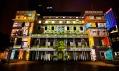 The Electric Canvas - City Life videomapping: Městská knihovna
