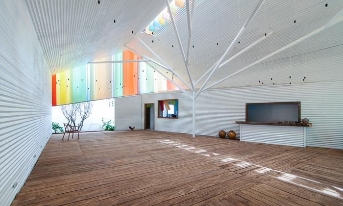 Nové kulturní centrum veVietnamu připomíná kapli